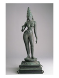 Parvati, Consort of Siva, Indian, 13th Century (Bronze) Reproduction proc&#233;d&#233; gicl&#233;e par  Indian