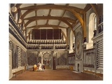 The Old Guard Chamber, the Round Tower, Windsor Castle, from 'Royal Residences' Giclee Print by James Stephanoff