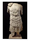 Loricate Torso, Late 2nd Century Ad (Marble) Giclee Print by  Roman