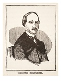 Edmond Becquerel (Litho) Giclee Print by  French