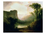 In Nature's Wonderland, 1835 Premium Giclee Print by Thomas Doughty