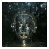 Reliquary Head of St. Benedict (Silver) Giclee Print by  French
