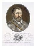 Anne De Montmorency Giclee Print by Antoine Louis Francois Sergent-marceau