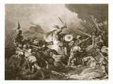 The Battle of Hastings (Litho) Giclee Print by Philippe De Loutherbourg