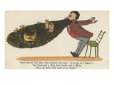 There Was an Old Man with a Beard, Who Said, 'It Is Just as I Feared!' Reproduction procédé giclée par Edward Lear