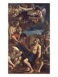 The Martyrdom of St. Peter Lámina giclée por  Guercino