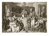 From Hand to Mouth, Engraved by J.M. Johnstone (Engraving) Giclee Print by Thomas Faed