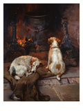 By the Hearth, 1894 Giclee Print by Philip Eustace Stretton