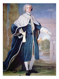 Portrait of Charles Calvert (Colour Litho) Giclee Print by Allan Ramsay