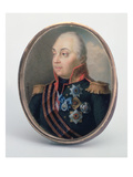 Mikhail Illarionovich Kutuzov, Prince of Smolensk, after 1813 (W/C and Gouache) Giclee Print by Ivan Grigorievich Grigoriev