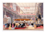 The Canadian Hall from 'Dickinsons' Comprehensive Pictures of the Great Exhibition of 1851...' Giclee Print by  English
