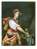 David with the Head of Goliath Giclee Print by Alessandro Turchi