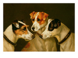 The Hounds Giclee Print by Alfred Wheeler