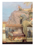 The Finding of Moses by Pharaoh's Daughter, 1904 (Detail) Giclee Print by Sir Lawrence Alma-Tadema