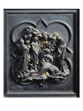 The Raising of Lazarus, Tenth Panel of the North Doors of the Baptistery of San Giovanni, 1403-24 Giclee Print by Lorenzo Ghiberti