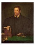 Portrait of Ippolito Riminaldi Giclee Print by  Titian (Tiziano Vecelli)
