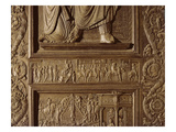 Detail from the Central Door of the Basilica, Decorated 1439-45 (Bronze) (See also 247330-247337) Giclee Print by Antonio Filarete