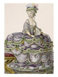 Duchess' Evening Gown, Engraved by Dupin, Plate No.161 Giclee Print by Pierre Thomas Le Clerc