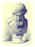 Plato, Illustration from 'History of Rome' by Victor Duruy, Published 1884 Giclee Print by  Chapuis