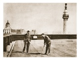 Golf Practice for Office Workers on the Roof of Adelaide House, from 'Wonderful London' Giclee Print by  English Photographer
