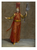 The Ibriktar Agassi, Plate 6 Giclee Print by Jean Baptiste Vanmour