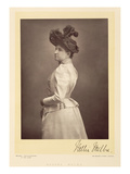 Dame Nellie Melba (1861-1931), Operatic Soprano, Portrait Photograph (Sepia Photo) Giclee Print by Stanislaus Walery