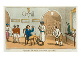 Qui Hi in the Bombay Tavern, from 'The Grand Master, or Adventures of Qui Hi in Hindostan Giclee Print by Thomas Rowlandson