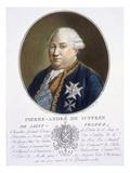 Pierre-Andre De Suffren De St Tropez Giclee Print by Antoine Louis Francois Sergent-marceau