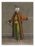 """The """"Biach-Chioux"""", Plate 14 Giclée-Druck von Jean Baptiste Vanmour"""