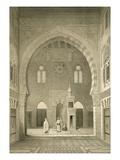 French - Interior of the Mosque of Qaitbay, Cairo (Litho) Digitálně vytištěná reprodukce