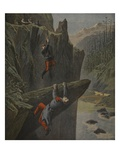 The Rescue of a Soldier, Illustration from 'Le Petit Journal: Supplement Illustre' Giclee Print by Henri Meyer
