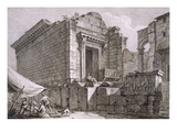 View of the Temple of Aesculapius Giclee Print by Robert Adam