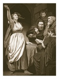 Joan of Arc Declaring Her Mission, Engraved by T. Holloway Giclee Print by John Opie