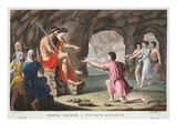 Orpheus in Hell, Book X, Illustration from Ovid's Metamorphoses, Florence, 1832 Giclee Print by Luigi Ademollo