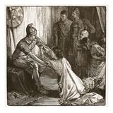 Interview Between Coriolanus and His Wife and Mother (Litho) Giclee Print by  English