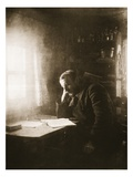 Political Exile in Siberia, 1890S (Sepia Photo) Giclee Print by  Russian Photographer