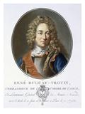 Rene Duguay-Trouin Giclee Print by Antoine Louis Francois Sergent-marceau
