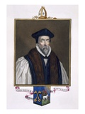 Portrait of John Hooper (D.1555) Bishop of Gloucester Giclee Print by Sarah Countess Of Essex