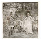 Murder of Cicero (Litho) Giclee Print by  English