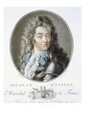 Nicolas Catinat Giclee Print by Antoine Louis Francois Sergent-marceau