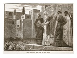 Ezra Reading the Law to the Jews (Litho) Giclee Print by  English