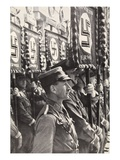 Sa Troops Parading, C.1929-31, from 'Geschichte Der Sa' by Wilhelm Rehm, Pub. by Franz Eher Nachf Giclee Print by  German photographer