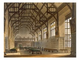 The Hall of Trinity College, Cambridge, from 'The History of Cambridge' Giclee Print by Augustus Charles Pugin