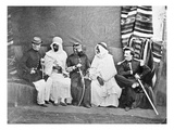 The Bureau Arabe of Oran, C.1860-70 (B/W Photo) Giclee Print by Jacques Antoine Moulin