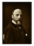 Eugene Fromentin (1820-76), from 'Galerie Contemporaine', C.1874-78 (B/W Photo) Giclee Print by  French Photographer