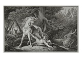 Death of William Rufus, Engraved by Neagle Giclee Print by Edward Francis Burney