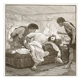 The Last Banquet of Sertorius (Litho) Giclee Print by  English