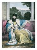 Michael Soutzo (Mihai Sutu), Prince of Moldavia 1819-21, Engraved by Lemercier Giclee Print by Louis Dupré