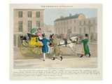The Pressing Invitation, from 'Fashionable Bores, or Coolers in High Life, by Peter Quiz' Giclee Print by Daniel Thomas Egerton