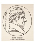 Royer-Collard (Litho) Giclee Print by Pierre Jean David d'Angers